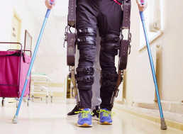 Exoskeletons Could Improve Bowel Movements in Spinal Cord Injury Patients