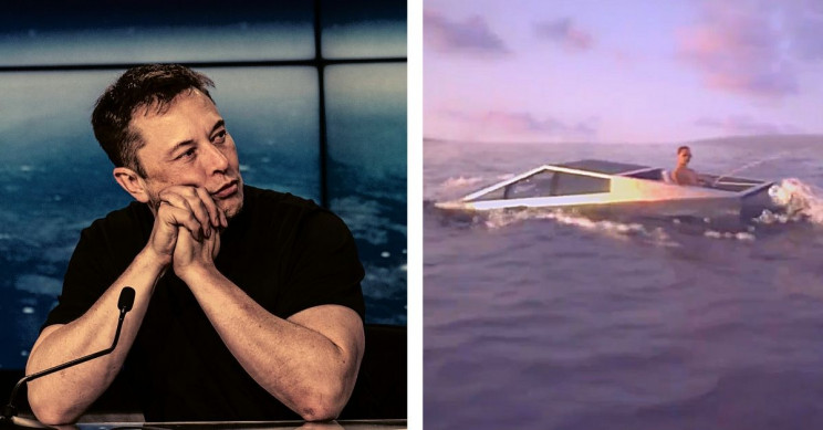 Tesla's Cybertruck Could Take Amphibious Turn, Says Elon Musk
