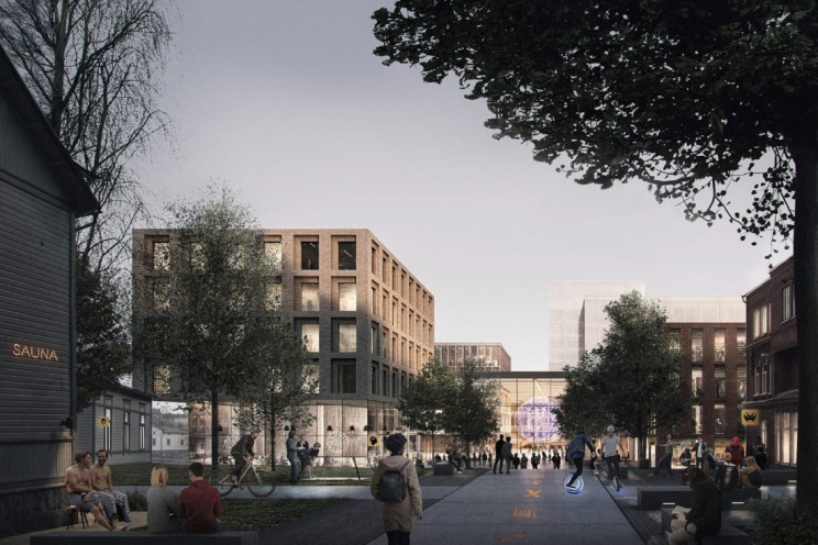 maria 01 startup campus in helsinki concept by AOR architects