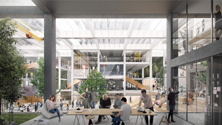 maria 01 startup campus concept by AOR architects