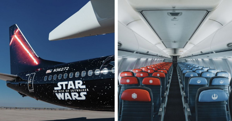 United's Star Wars Airplanes Take to The Skies