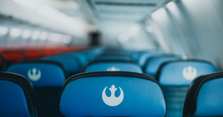 United Star Wars themed seats.