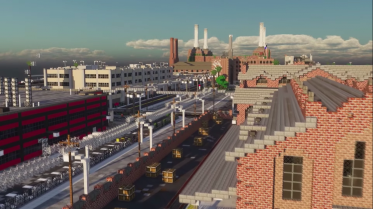 Minecraft Players Build the Largest City Ever, It Is Incredibly Realistic