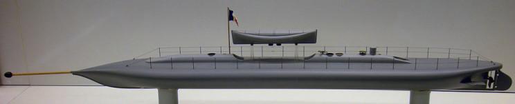 history of submarines plongeur