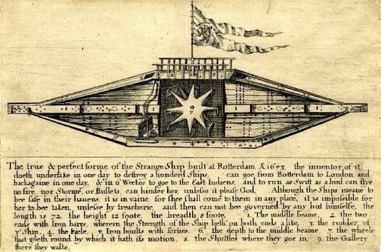 history of submarines rotterdam boat
