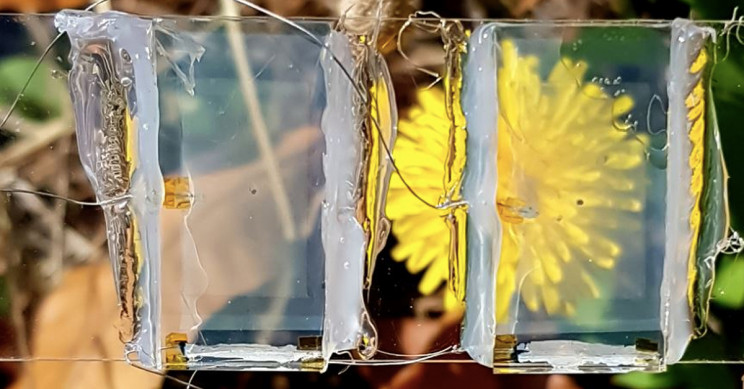 Researchers Demonstrate Transparent Solar Cell by Powering Small Motor