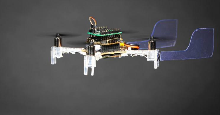 Smellicopter Drone Fin