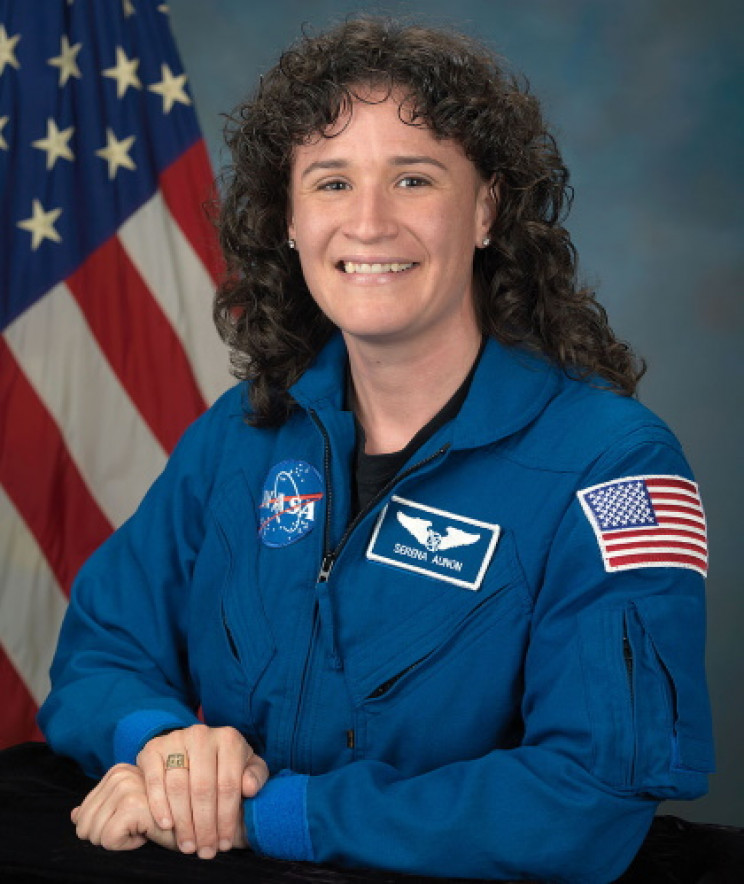 Astronaut Serena Aunon-Chancellor