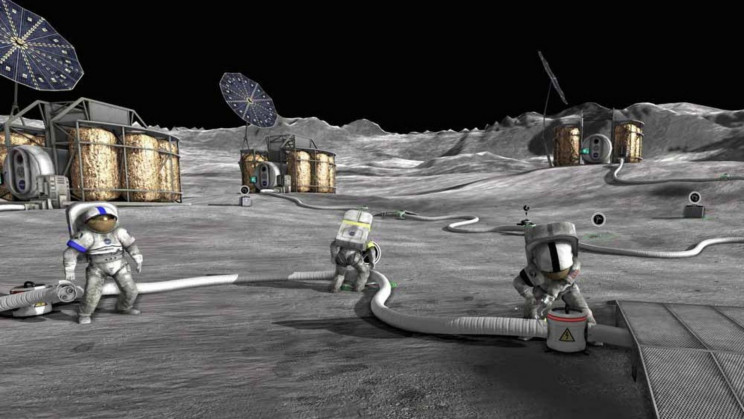 Farming Fish on the Moon Could Feed Astronauts