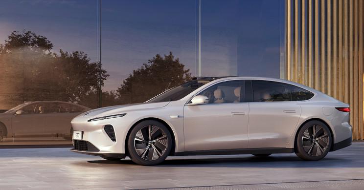 Chinese Tesla Rival NIO Debuts 600-Mile Range Electric ET7