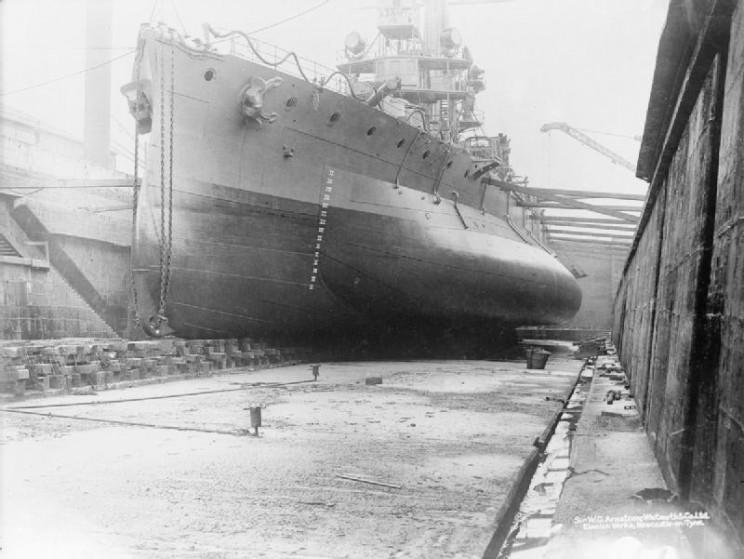 ship torpedo defenses bulge