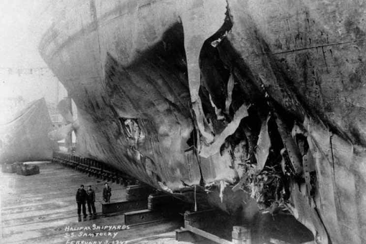 torpedo damage