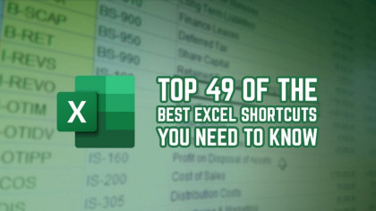 Top 49 of the Best Excel Shortcuts You Need to Know