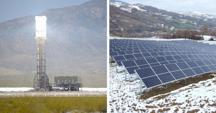 How Does a Solar Power Plant Work?