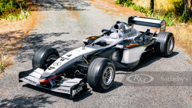 A Winning Formula-1 Racecar Could Be Yours. For $2 Million