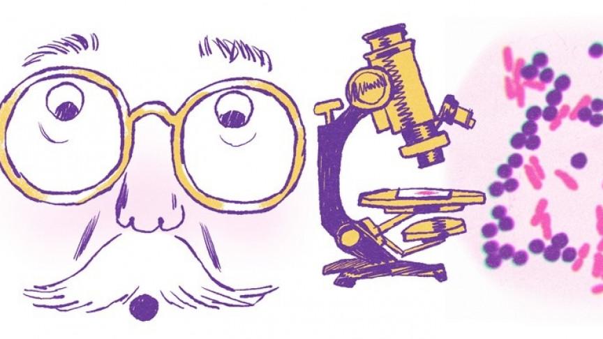 Google Celebrates Microbiologist Hans Christian Gram in New Google Doodle