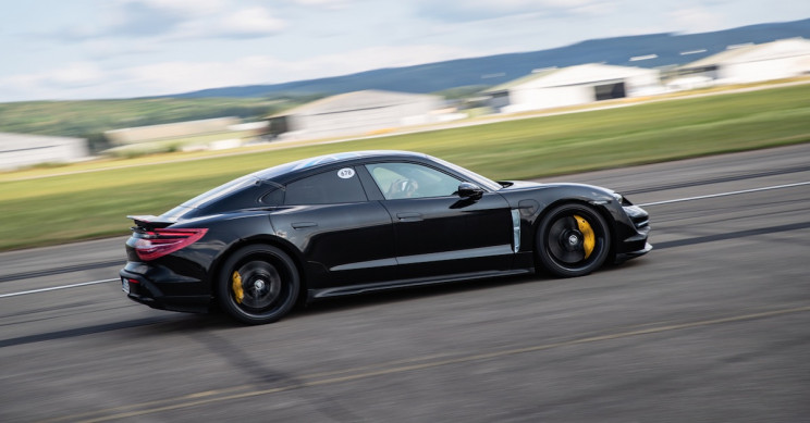 World Premiere of Porsche's First All-Electric Sports Car: The Porsche Taycan