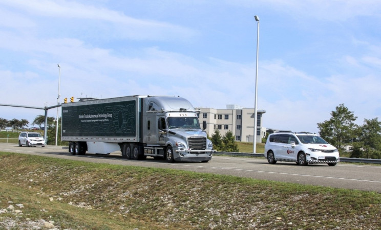 Daimler Trucks and Torc Robotics Begin Testing Self-Driving Trucks on Public Roads