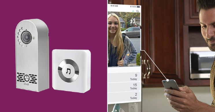 This Doorbell Doubles as an HD Security System