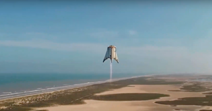 SpaceX's Starhopper aces 150 meter test flight after recent failure