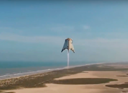 SpaceX Successfully Completed 500 Feet Starhopper Test Flight