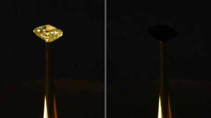 The Blackest Black: MIT Engineers Develop a Material so Dark, That It Makes Things Disappear