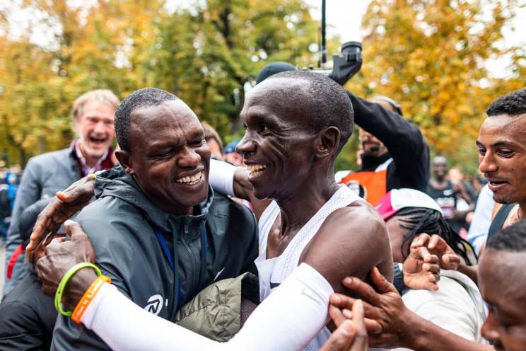 A Kenyan Runner Has Just Run a Historic Sub-Two-Hour Marathon