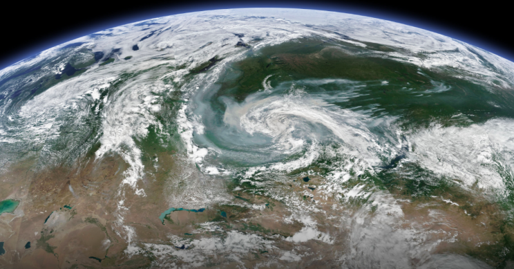 Smoke plumes from 'unprecedented' wildfires in Arctic visible from space