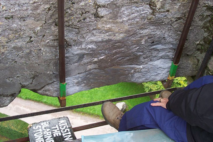 irish tourist guide blarney stone