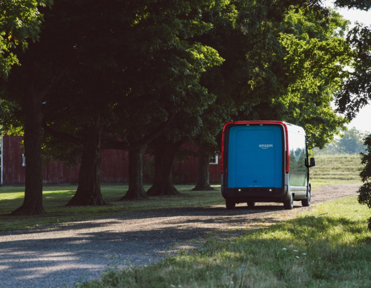 Amazon Unveils New Electric-Powered Delivery Fleet Vehicle