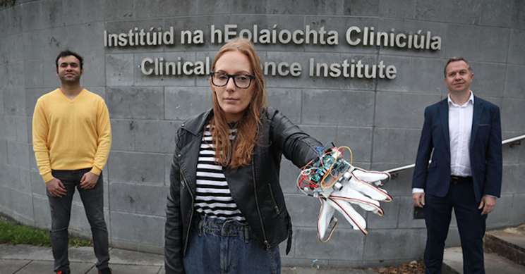 NUI Galway's 'JediGlove' Assists Visually Impaired with Sonar