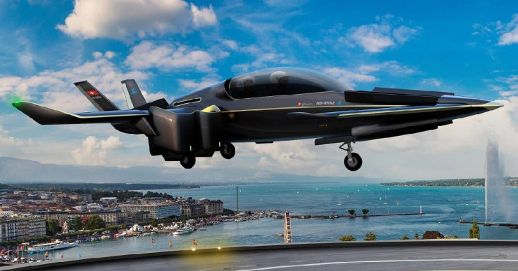 Swiss Firm Engineers Hybrid Electric eVTOL/eSTOL Prototype