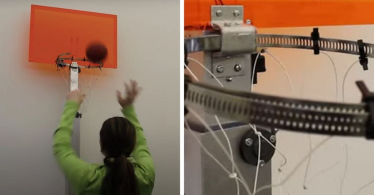 MIT Develops Shape-Shifting Basketball Hoop for Better Training