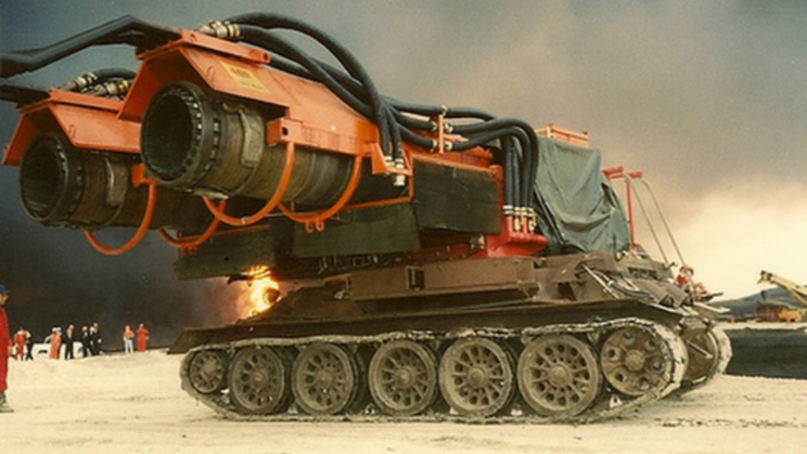 A Russian T-34 Received a Major Upgrade. A MiG-21s Jet Engine?