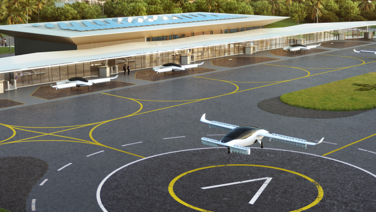 A Major eVTOL Maker Is Building 10 Modular Vertiports to Scale Traffic