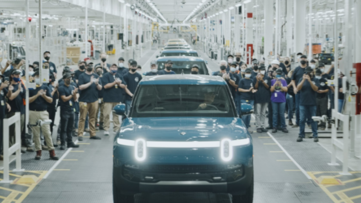 Rivian Finally Rolls Out First All-Electric Truck R1T