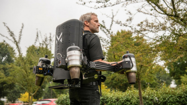 Universal Jetpacks? A UK Startup Just Upgraded Human Flying Machines