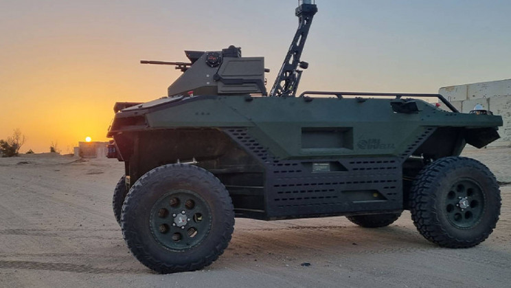 New Uncrewed Land Vehicle Will Keep Troops Out of Harm's Way