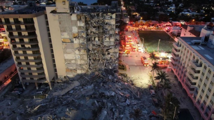 Everything We Know About The Devastating Building Collapse in Miami