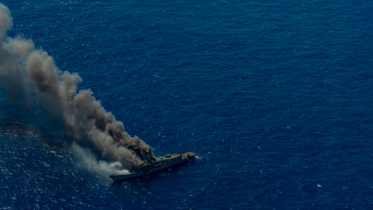 US Military Destroys Its Last Oliver Hazard Perry-Class Frigate With Missiles