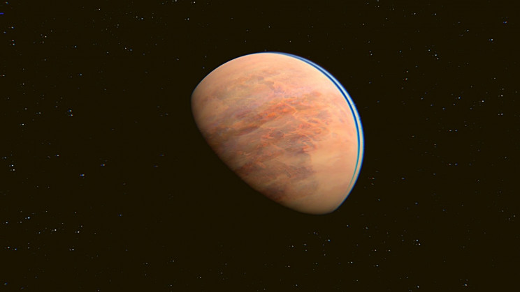 Astronomers Found a Warm Rocky World That Could Support Oceans and Life