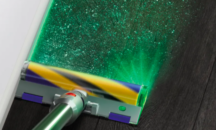 Dyson's New Vacuum Shoots Laser Beams To Spot Specks of Dust