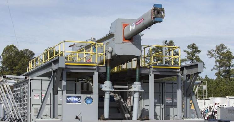 U.S.' $500 Million Navy Railgun Won't Be Joining the Ranks Anytime Soon