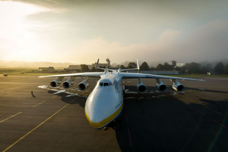 Antonov An-225 top view