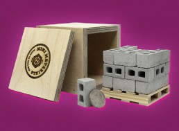 Embrace Your Inner Builder with These Miniature Cinder Blocks