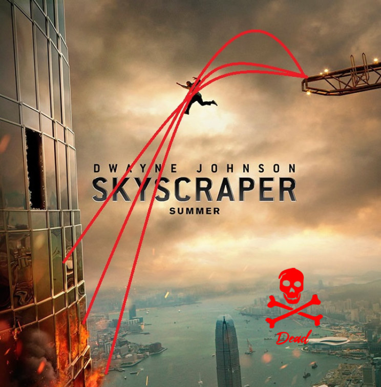 impossible movie posters skyscrapper