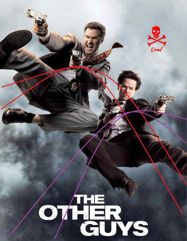impossible movie posters the other guys