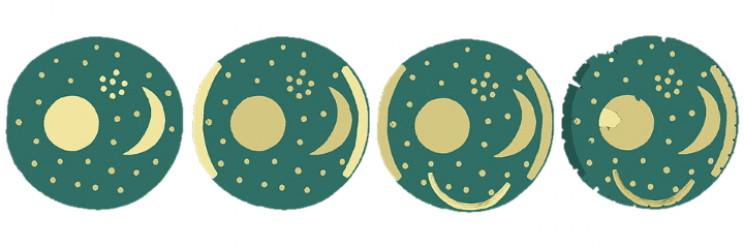 Nebra Sky Disk phases