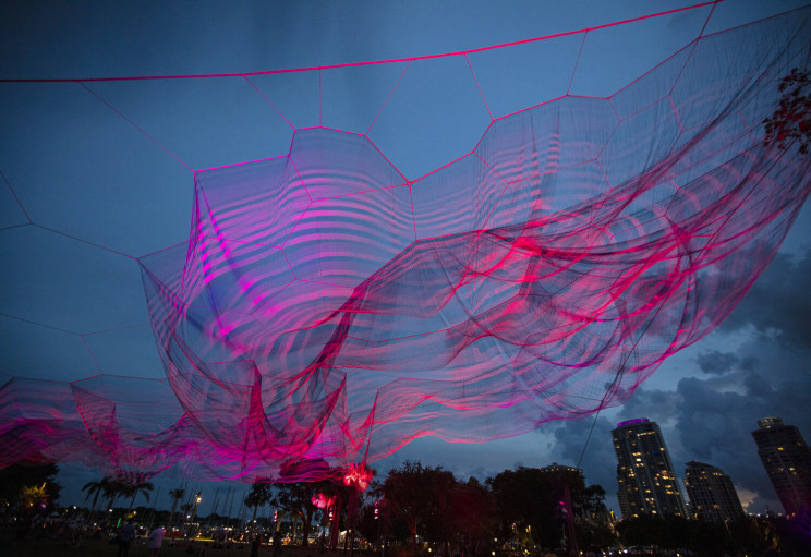 Beautiful Aerial Sculpture in Florida Recalls An Ugly Past