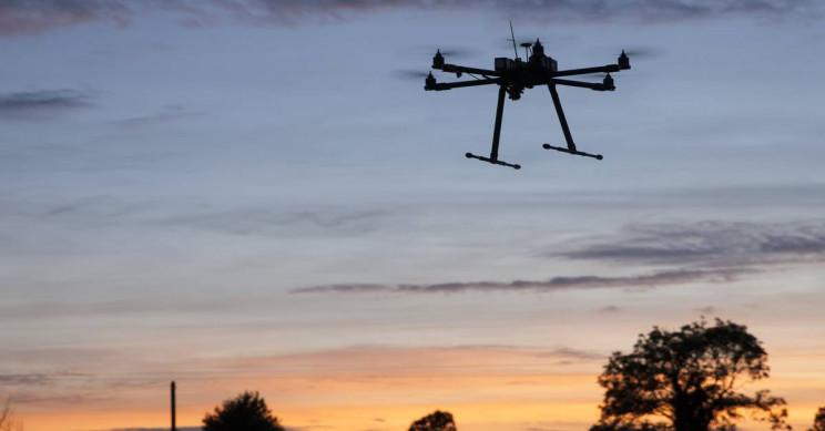 British Military Develops Double-Barrel Shotgun Drone